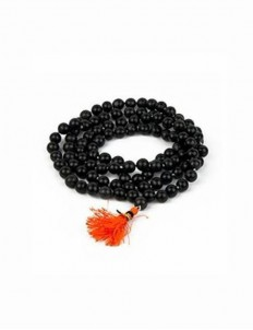 Natural Certified Black Hakik (Aqeeq) Mala Best quality