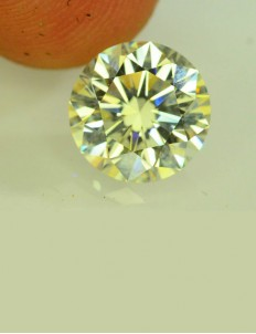 1.00 ct Moissanite Diamond- K Colour, SI purity