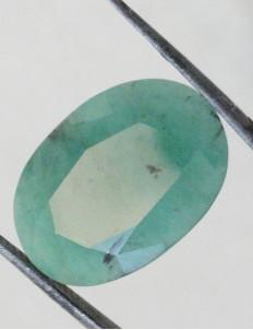 11.03 ct/12.25 ratti Natural Certified Panna (Emerald)