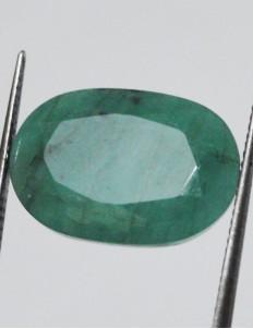 7.03 ct/7.88 ratti Natural Certified Zambian Panna (Emerald)