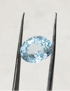 8.50 Ratti (7.58 ct) Natural Blue Topaz