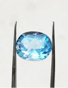 7.33 Ratti (6.60 ct) Natural Blue Topaz