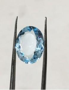 7.23 Ratti (6.51 ct) Natural Blue Topaz