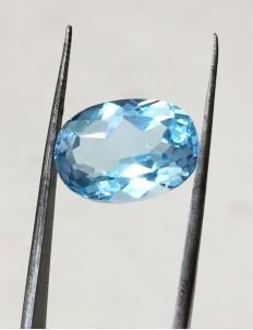 10.60 Ratti (9.67 ct) Natural Blue Topaz