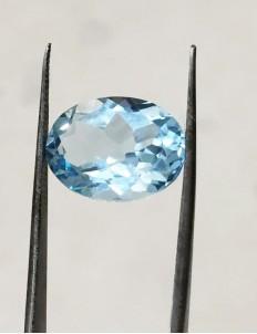 9.80 Ratti (8.82 ct) Natural Blue Topaz