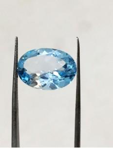 7.10 Ratti (6.38 ct) Natural Blue Topaz