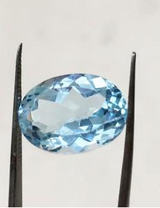 11.27 Ratti (10.15 ct) Natural Blue Topaz