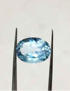 10.27 Ratti (9.25 ct) Natural Blue Topaz