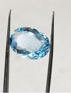 10.04 Ratti (9.04 ct) Natural Blue Topaz