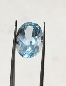 11.50 Ratti (10.31 ct) Natural Blue Topaz