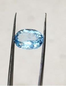 8.37 Ratti (7.54 ct) Natural Blue Topaz