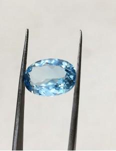 7.45 Ratti (6.68 ct) Natural Blue Topaz