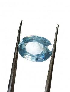 5.50 ratti (4.92 ct) Natural Blue Zircon