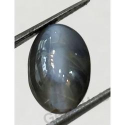 4.28 ratti (3.86 ct) Black Chrysoberyl Cat's Eye (Lehsunia)