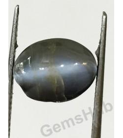 5.50 ratti (4.88 ct) Black Chrysoberyl Cat's Eye (Lehsunia)