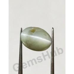 6.85 ratti (6.15 ct) Chrysoberyl Cat's Eye (Lehsunia)