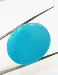 Natural Certified Feroza/Turquoise weight- 47.66 ct