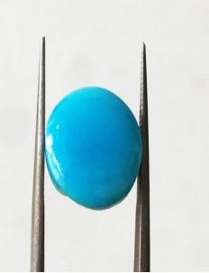 7.40 ratti (6.67 ct) Natural Certified Feroza/Turquoise