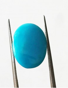 7.60 ratti (6.96 ct) Natural Certified Feroza/Turquoise