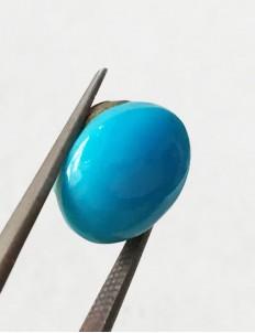 7.85 ratti (7.07 ct) Natural Certified Feroza/Turquoise