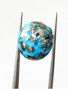 13.25 ratti (11.79 ct) Natural Certified Irani Feroza/Turquoise
