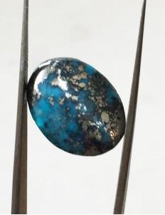 15.50 ratti (13.97 ct) Natural Certified Irani Feroza/Turquoise