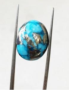 17.57 ratti (15.82 ct) Natural Certified Irani Feroza/Turquoise