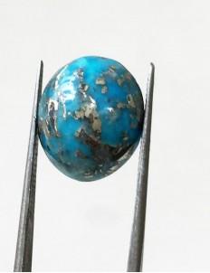10.30 ratti (9.28 ct) Natural Certified Irani Feroza/Turquoise