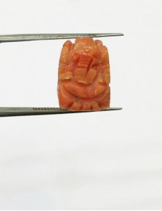 11.41 ct Natural Certified Ganesh Moonga