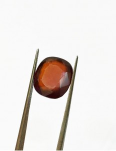 8.20 ratti (7.36 ct) Natural Hessonite Gomed Certified