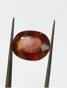 15.00 ratti (13.41 ct) Natural Hessonite Ceylon Gomed Certified