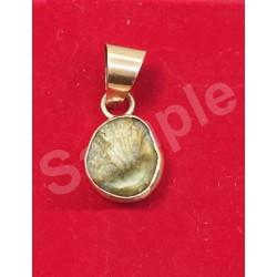 Machmani Stone, मकरधवज रत्न, मछ मणि, Muktamani Copper (Tamba) Pendant
