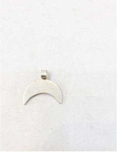Silver Chand/Half Moon Pendant For Baby