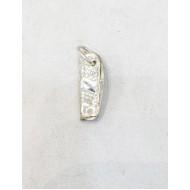 Silver Chaku/Knife Pendant For Baby