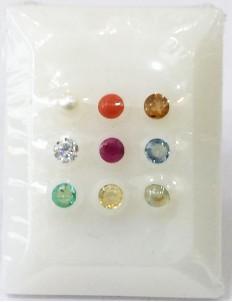 Natural Certified Navratana Stones Premium Quality