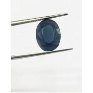 4.18 Ct/ 4.50  Ratti Natural Ceylon Blue Sapphire (Neelam) Gemstone