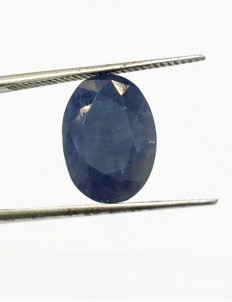 5.46 Ct/ 6.25  Ratti Natural Ceylon Blue Sapphire (Neelam) Gemstone