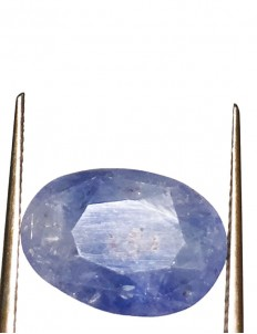 5.79 Ct/ 6.50  Ratti Natural Ceylon Blue Sapphire (Neelam) Gemstone