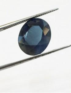 6.16 Ct/ 6.90  Ratti Natural Ceylon Blue Sapphire (Neelam) Gemstone