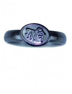 Shani Dosha Niwaran Black Horse Shoe Iron Ring