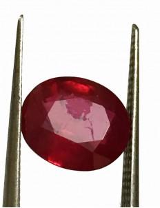 3.34 ct Natural Certified Bangkok/New Burma Ruby/Manik