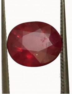 3.73 ct Natural Certified Bangkok/New Burma Ruby/Manik