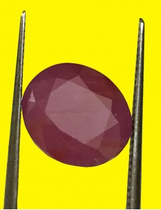 5.16 ct Natural Certified Non Heat Non Treat Ruby/Manik