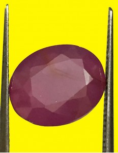 5.47 ct Natural Certified Non Heat Non Treat Ruby/Manik