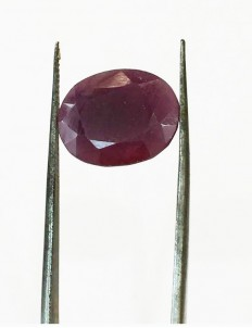 7.50 ratti/6.99ct Natural Certified Non Heat Non Treat Ruby/Manik