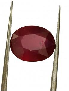 7.24 ct Natural Certified Bangkok/New Burma Ruby/Manik