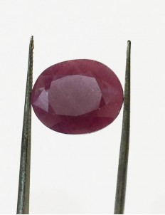 9.25 ratti/ 8.38 ct Natural Certified Non Heat Non Treat Ruby/Manik
