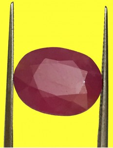 8.51 ct Natural Certified Non Heat Non Treat Ruby/Manik