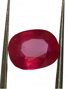 8.75 ct Natural Certified Bangkok/New Burma Ruby/Manik