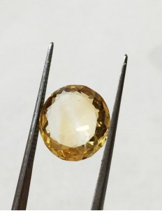 5.80 ratti (5.25 ct) Natural Certified Sunela (Citrine)